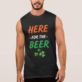 Hier voor het het manSt Patricks van het Bier T Shirt