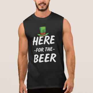 Hier voor het St Patricks van het Bier grappige T Shirt