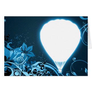 hifi hete luchtballon wenskaart
