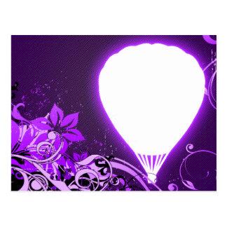 hifi hete luchtballons briefkaart