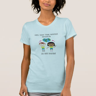 Hij heeft de Gehele Wereld in zijn handT-shirt T Shirt