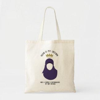 Hijab is mijn kroon - HIJAB - ANONIEME PUR - Draagtas
