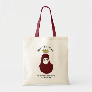 Hijab is mijn kroon - HIJAB - dienst Draagtas