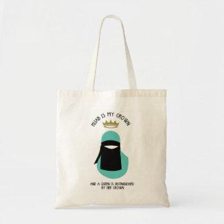 Hijab is mijn kroon - NIQAB - ANONIEME AQU - Draagtas