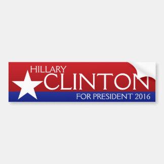 Hillary Clinton 2016 Bumpersticker