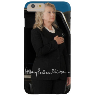 Hillary Clinton Barely There iPhone 6 Plus Hoesje