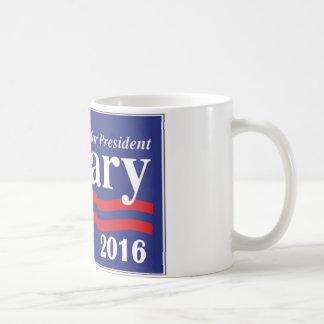 Hillary Clinton voor de Mok van de Koffie van het