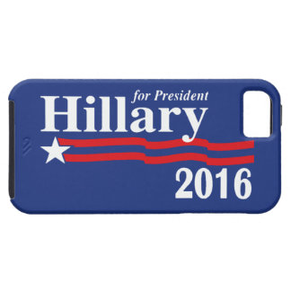 Hillary Clinton voor iPhone 5 van het President 20 Tough iPhone 5 Hoesje
