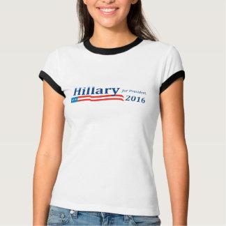 Hillary Clinton voor President 2016 de Bel T van T Shirt