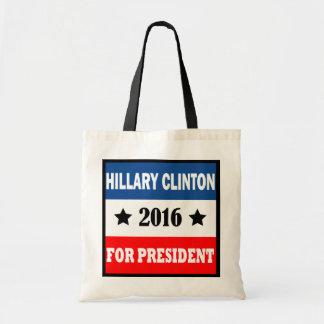 Hillary Clinton voor President 2016 Draagtas