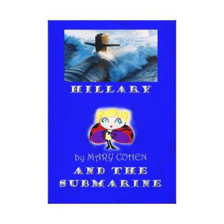 Hillary en de Onderzeeër Canvas Print