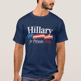 Hillary voor de T-shirt van de Gevangenis 2016