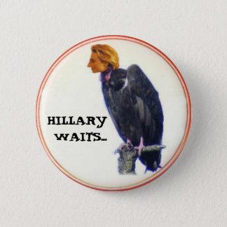 Hillary Vulture Button