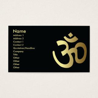 Hindoeïsme - Zaken Visitekaartjes