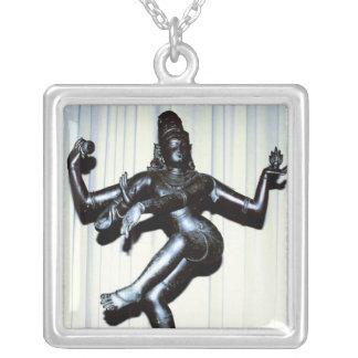 Hindoes Echt Zilveren Ketting Shiva