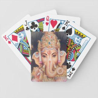 Hindoese Olifant Ganesha Poker Kaarten