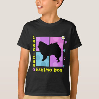 Hip Amerikaanse EskimoHond T Shirt