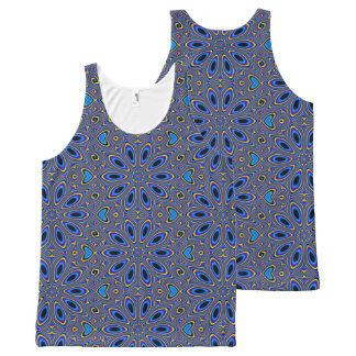 Hip Patroon, Man All-Over-Print Tank Top