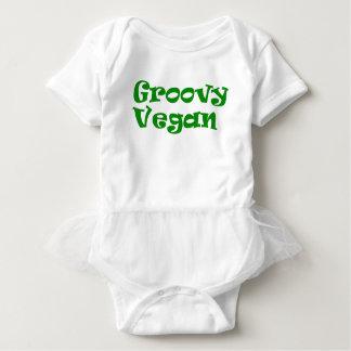 """Hip veganist"" baby Romper"
