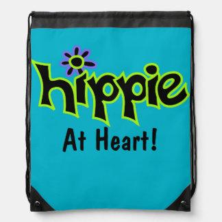 Hippie bij Blauwgroen Douane van de Kunst van het Gymtasjes
