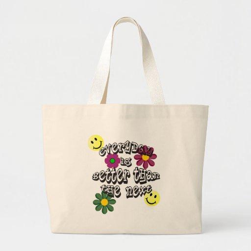 hippie volgende dag tassen