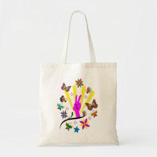 hippie zak canvas tassen