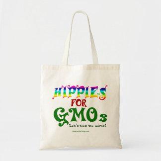 Hippies voor GMOs de Zak van het Bolsa van de Budget Draagtas