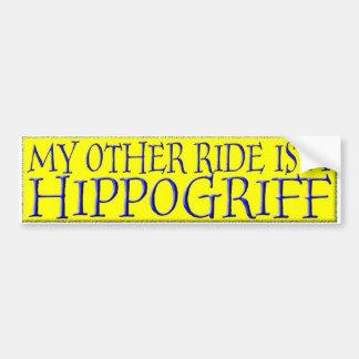 HIPPOGRIFF BUMPERSTICKER