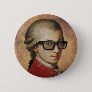 Hipster Mozart Ronde Button 5,7 Cm