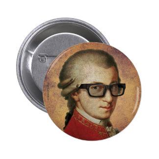 Hipster Mozart Ronde Button 5,7 Cm