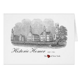 Historisch Homerus Village Green Notecards Briefkaarten 0
