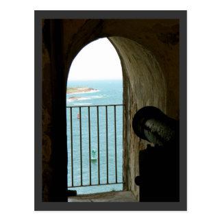 Historisch Kasteel Gr Morro, Puerto Rico Briefkaart