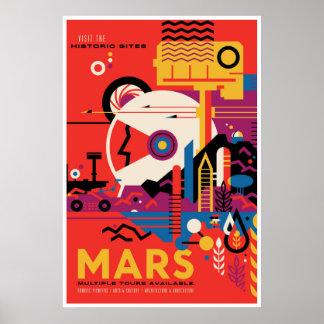 Historische Plaatsen van Illustratie van het Poster