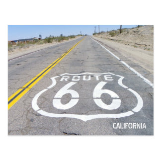 Historische Route 66 Briefkaart! Briefkaart