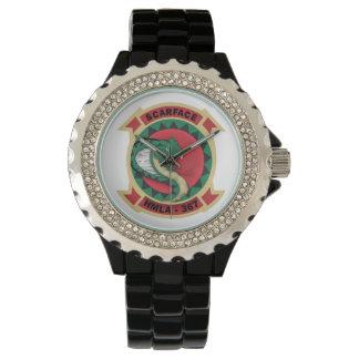 """Hmla-367 """"Gezicht vol littekens """" Horloges"""