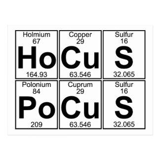 Ho-Cu-s po-Cu-S (hocuspocus) - Hoogtepunt Briefkaart