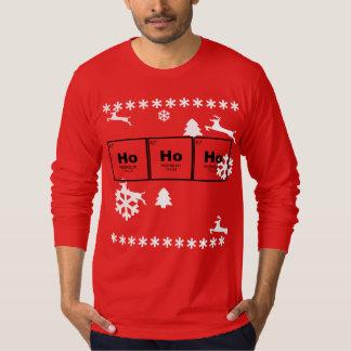 HO HO HO het periodieke overhemd van Kerstmis van T Shirt