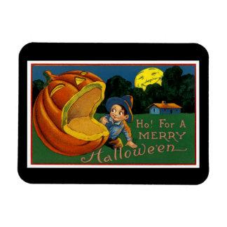 Ho! voor Vrolijk Halloween Magneet