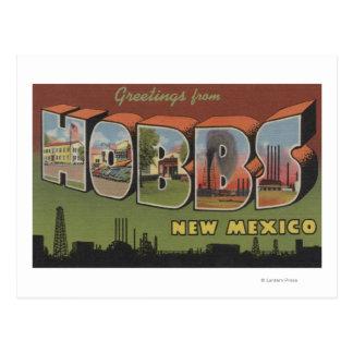 Hobbs, New Mexico - de Grote Scènes van de Brief Briefkaart