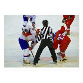 hockey briefkaart