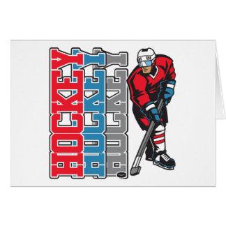 Hockey, Hockey, Hockey Wenskaart