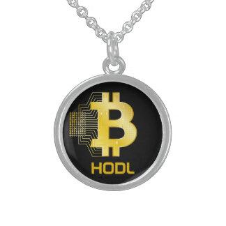 HODL uw bitcoin Sterling Zilver Ketting