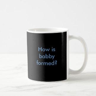 Hoe babby wordt gevormd? koffiemok