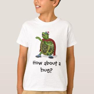 Hoe een ongeveer omhelzing? t shirt