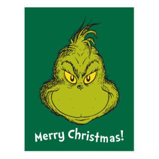 Hoe Grinch Kerstmis   Klassieke Grinch stal Briefkaart