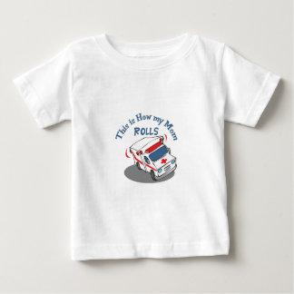 Hoe het Mamma rolt Baby T Shirts