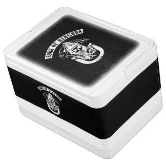 Hoefijzer het Werpen koel-SOR van de Iglo Igloo Koelbox