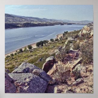 Hoefijzer Reservoir Colorado Poster