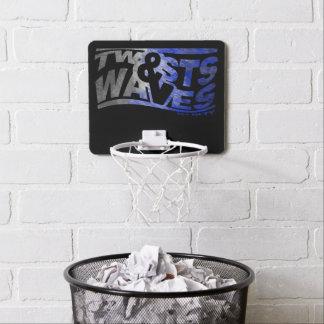 Hoepel van het Basketbal van draaien & van Golven Mini Basketbalbord