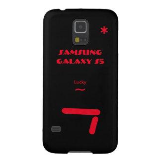 Hoesje 7 van de Melkweg van Samsung gelukkig S5 Galaxy S5 Hoesje